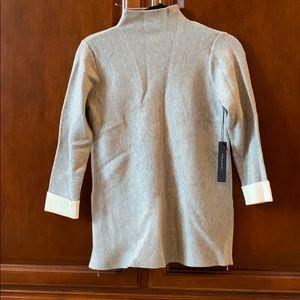 Gray sweater NWT Tahari